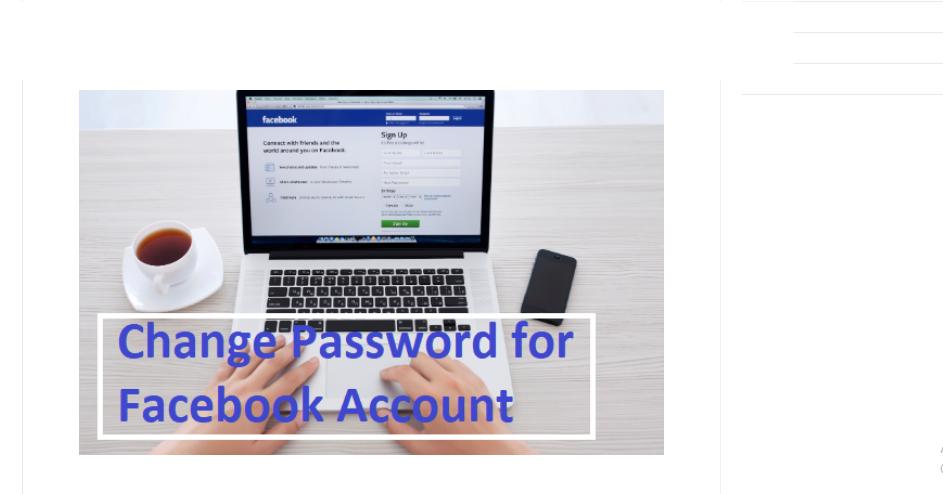 How to change my fb password