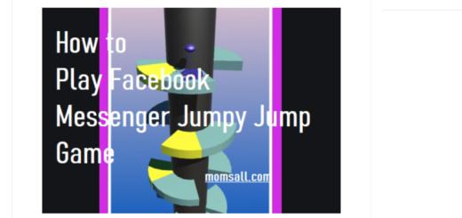 Messenger Jumpy Jumpy Game