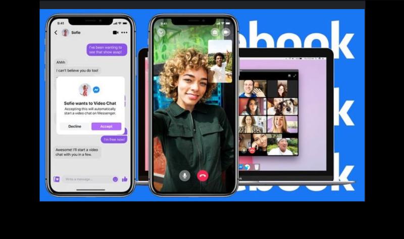 Messenger Rooms App