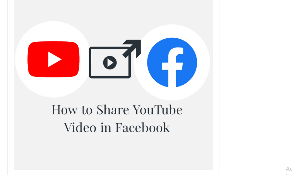 Share youtube videos on facebook
