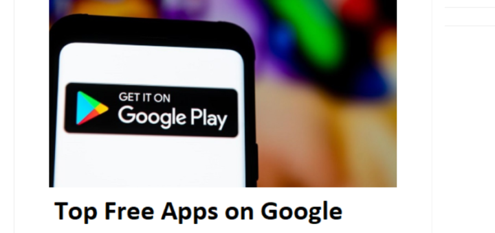 Top Free Apps On Google Play Store