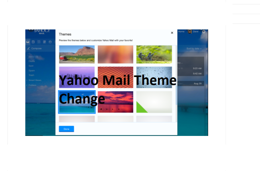 Yahoo Mail Themes