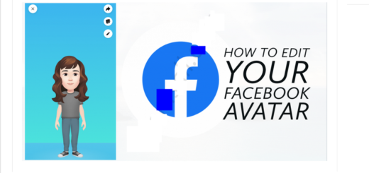 Edit Facebook Avatar