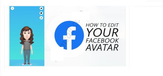 Edit Your Already Created Facebook Avatar