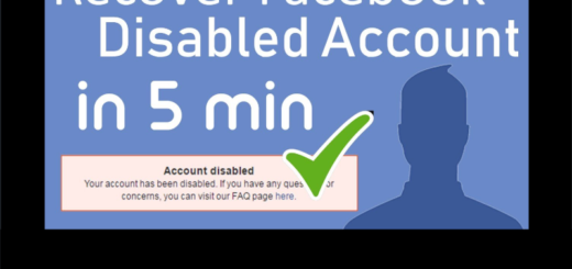 FB Account Disabled Solution