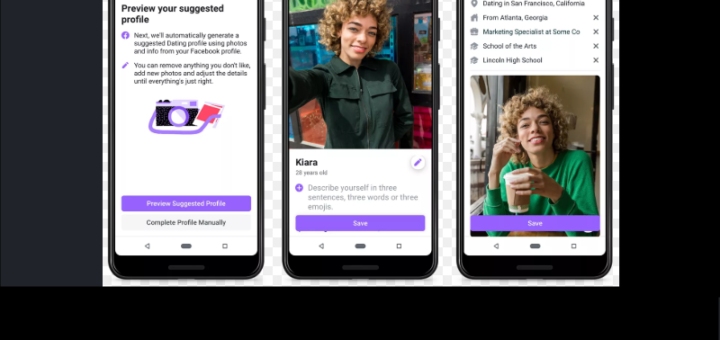 Facebook Dating App Setup