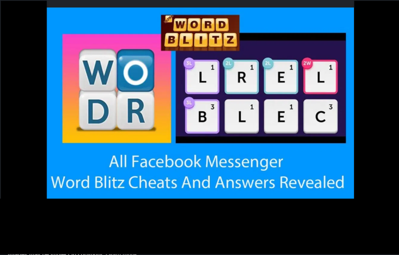 Facebook Messenger Cheats and Hack for Winning Word Blitz Game