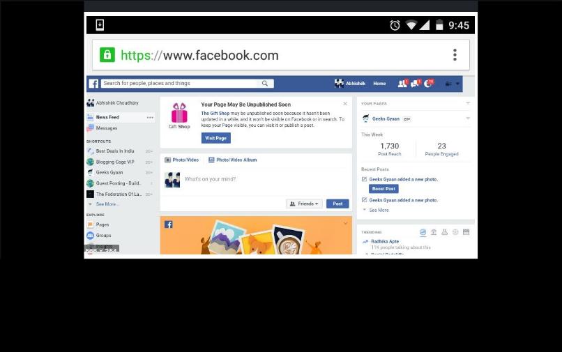 Facebook Web Version Sign Up