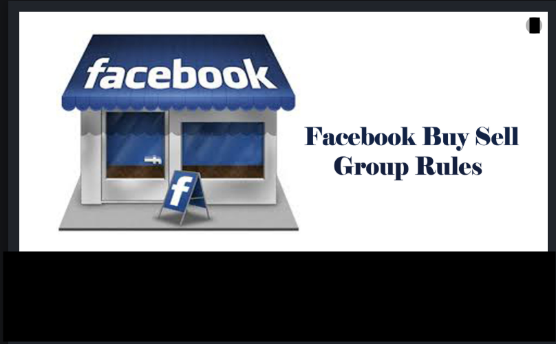 Facebook buy and sell group rules