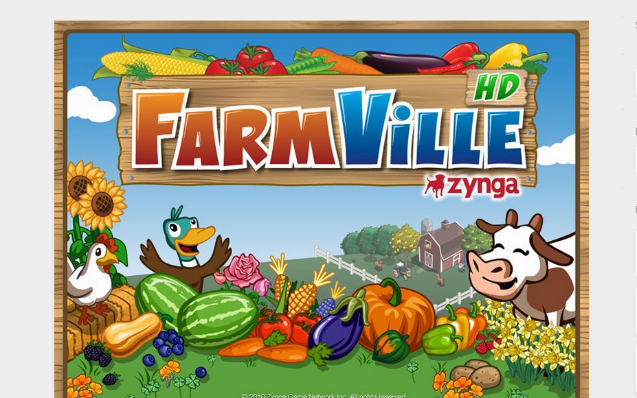 Farmville on Facebook
