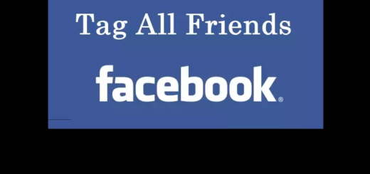 How to Tag All Friends In a Facebook Post