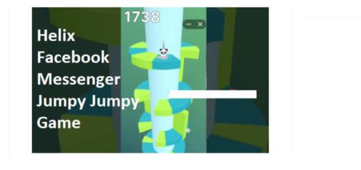 Play Helix Facebook Messenger Jumpy Jumpy Game
