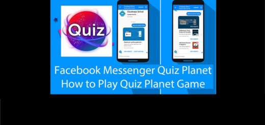 Play Quiz Planet Game On Facebook Messenger
