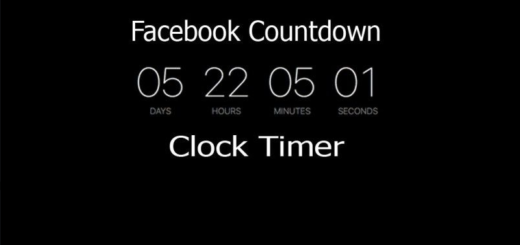 Countdown on Facebook