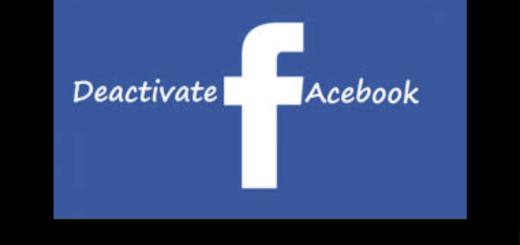 Facebook Deactivate