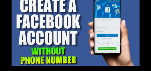 Facebook Sign up Account With Mobile Number