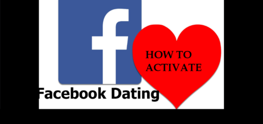 How to Activate Facebook Dating