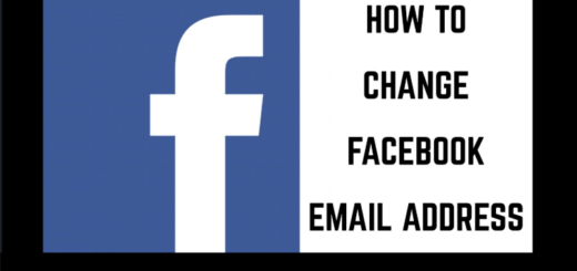 How to edit email address from Facebook