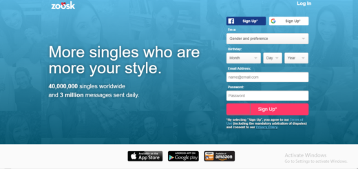 Zoosk Dating Account Sign Up