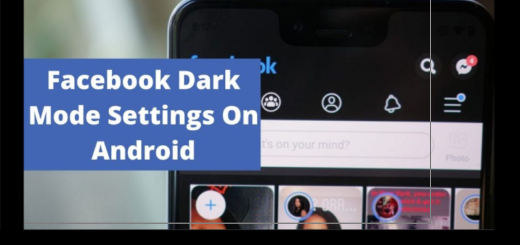 Dark Mode Android Facebook Settings