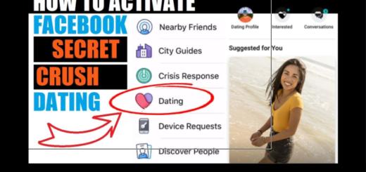 Dating in Facebook Secretly