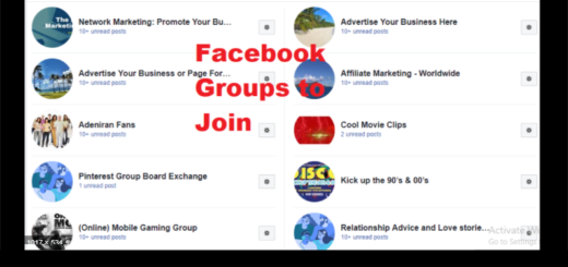 Facebook Groups To Join