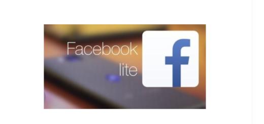 Facebook Lite Install
