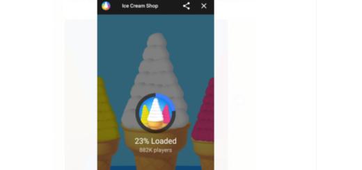 Facebook Messenger Ice Cream Shop Game