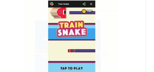 Facebook Messenger Train Snake Game