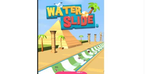 Facebook Messenger Water Slide Game