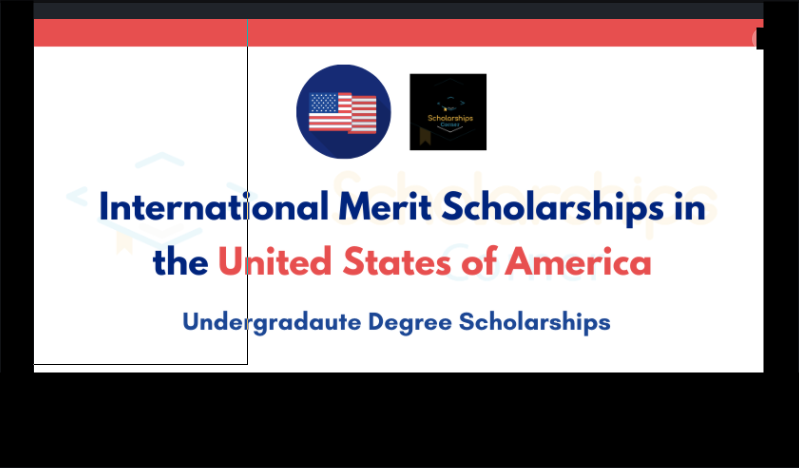 International Merit Scholarships in the USA
