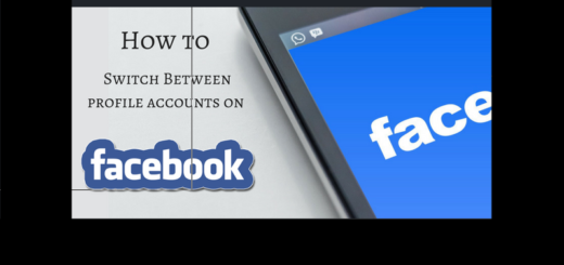 Switch Accounts on Facebook