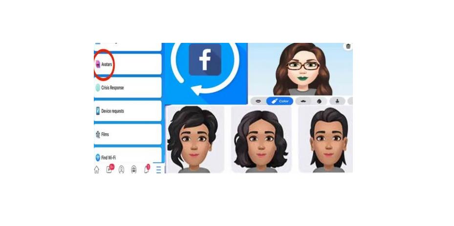 Facebook Avatar Maker Creator App