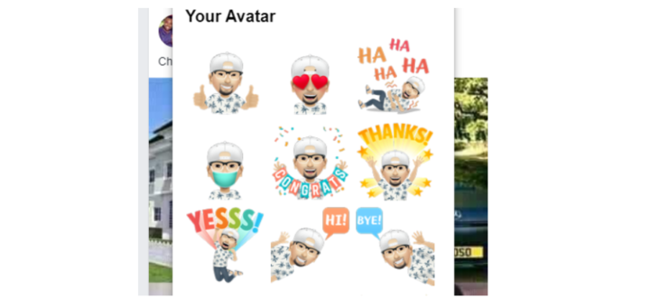How to Post An Avatar Sticker On Facebook Comment
