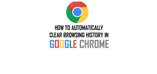 How to Delete Browser History in Google Chrome