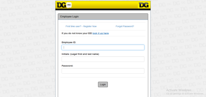 Dgme access employee portal login