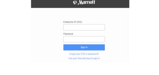Login extranet marriott com