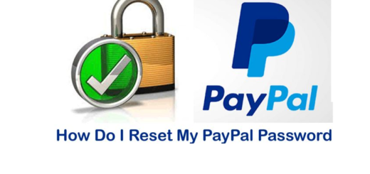 How to change your PayPal password