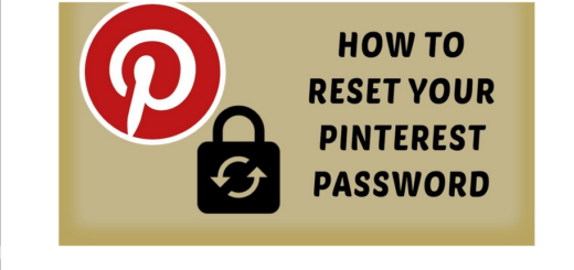 Recover my Pinterest Account
