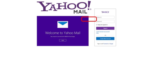 yahoomail my account