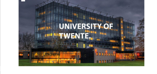University of Twente Scholarships Application