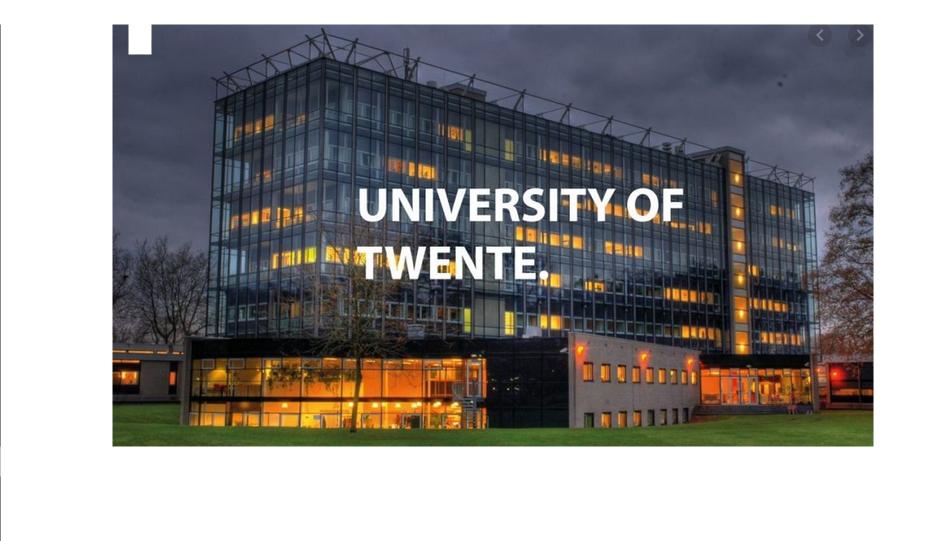 University of Twente Scholarships Application