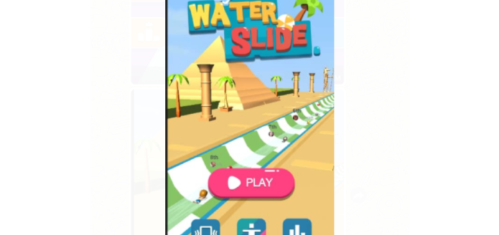Facebook Messenger Water Slide Game Play