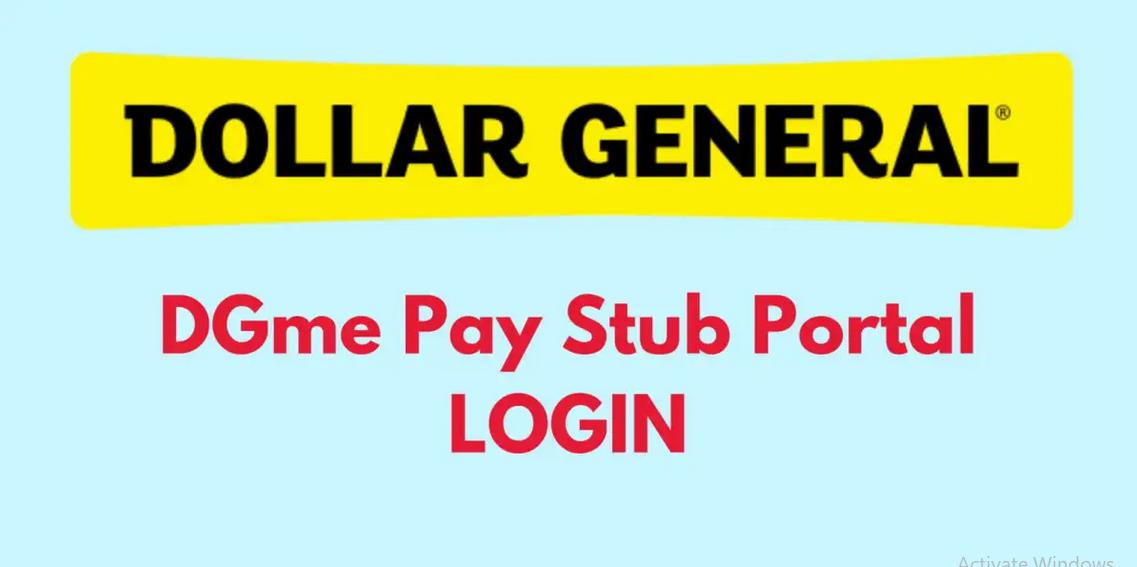 Dgme paystub Portal login
