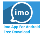 Install imo App