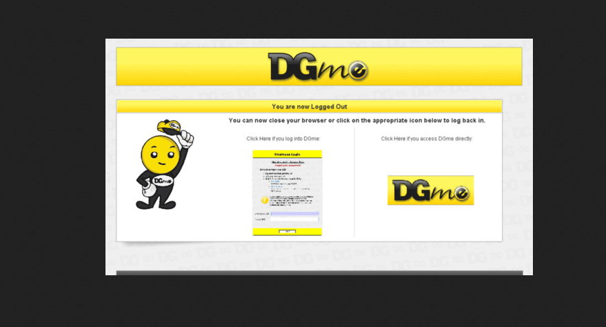 cant login to dgme