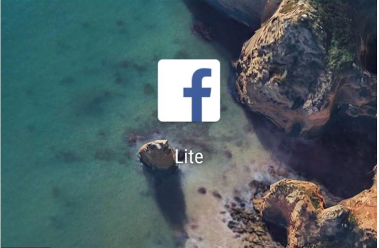 Lite App on Facebook Website